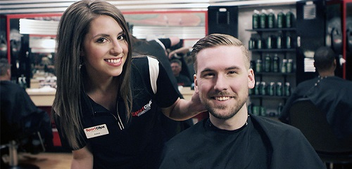 Sport Clips Haircuts of Ahwatukee​ stylist hair cut